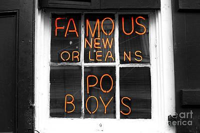 Photograph - Po Boys Fusion by John Rizzuto