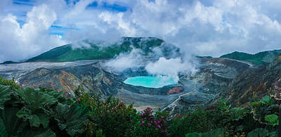 Photograph - Poas Volcano, Costa Rica by RC Pics