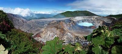Lush Photograph - Poas Volcano by Kryssia Campos