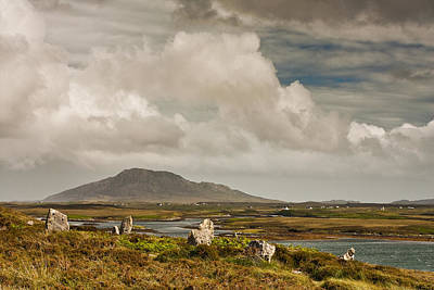 Photograph - Pobull Fhinn Stone Circle by Colette Panaioti