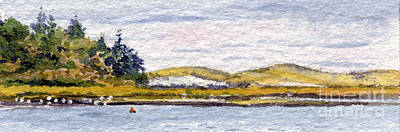 Cape Cod Painting - Pochet Island, Cape Cod by Heidi Gallo