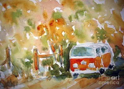 Painting - Poci Volki - Talulah by Pat Katz