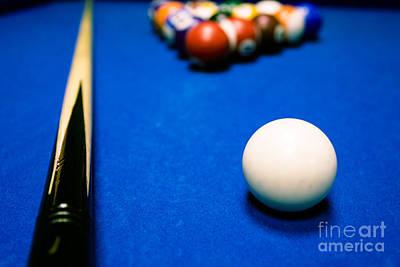 Photograph - 8 Ball Pool Table by Andy Myatt