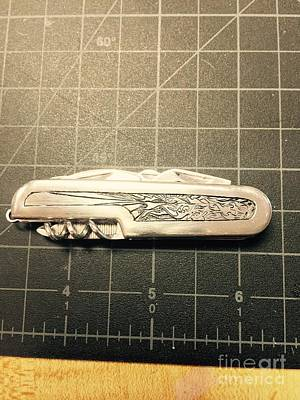 Jewelry - Pocket Knife by Joseph Mora