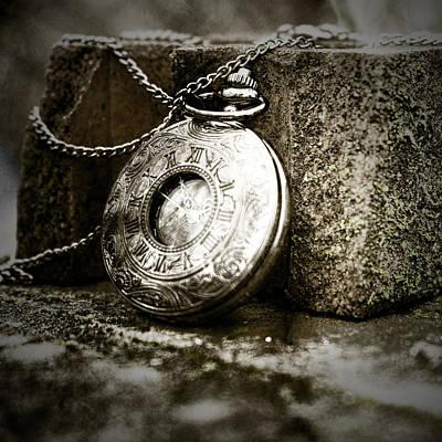 Photograph - Pocket Watch Sepia by Sharon Popek