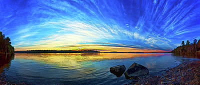 Photograph - Pocomoonshine Sunset 1 by ABeautifulSky Photography by Bill Caldwell