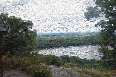 Painting - Pocono Mountains by Joan Reese