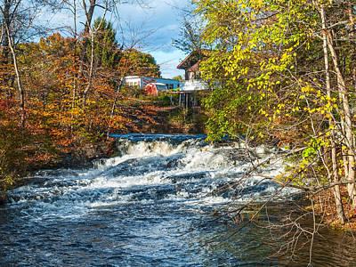 Photograph - Pocono Stream View by Andrew Kazmierski