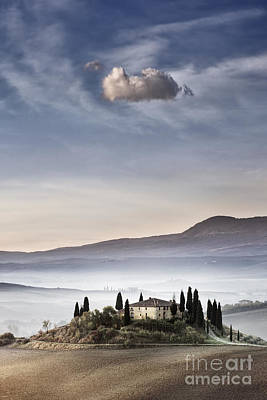 Podere Belvedere 4 Art Print by Rod McLean