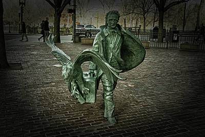 Photograph - Poe Returning To Boston by Mike Martin