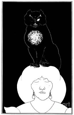 Of Black Cats Photograph - Poe: The Black Cat, 1894 by Granger