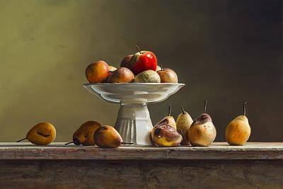 Hyperrealism Painting - Poem by Mark Van crombrugge
