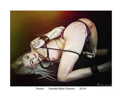 Photograph - Poena by Donald Yenson