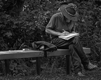 Photograph - Poet by Bob Orsillo