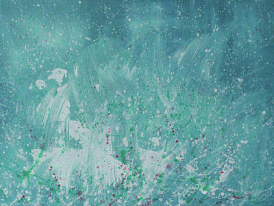 Painting - Poetic Beauty by Min Zou