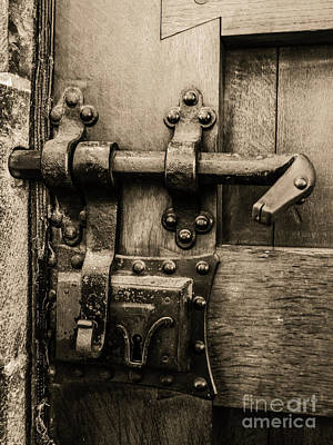 Belguim Wall Art - Photograph - Poetic Door by Lexa Harpell