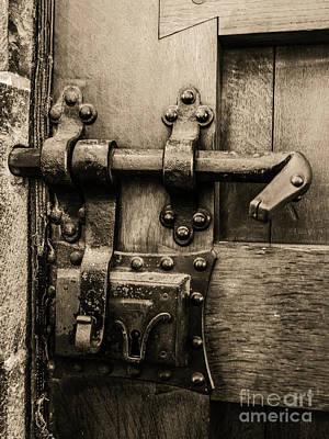 Photograph - Poetic Door by Lexa Harpell