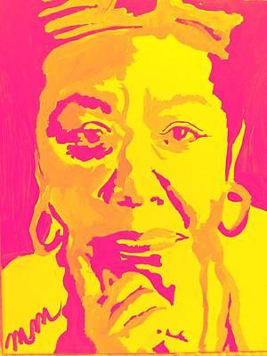 Painting - Poetically Speaking  by Miriam Moran