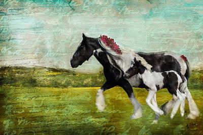 Digital Art - Poetry In Motion by Kimberly Stevens
