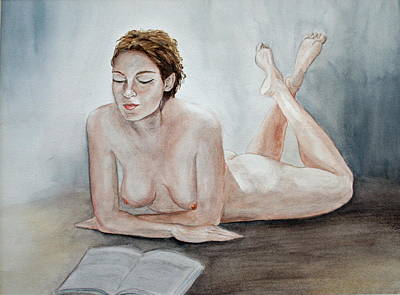 Poetry Art Print by Monika Degan