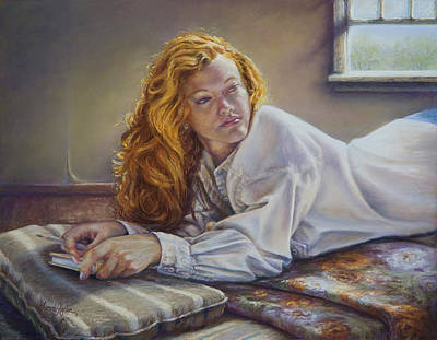 Pastel - Poet's Lair by Denise Horne-Kaplan
