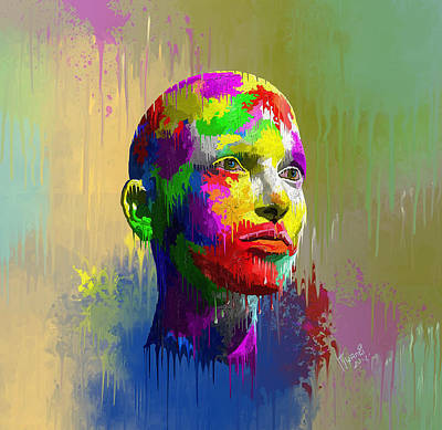 Painting - Poignant by Anthony Mwangi