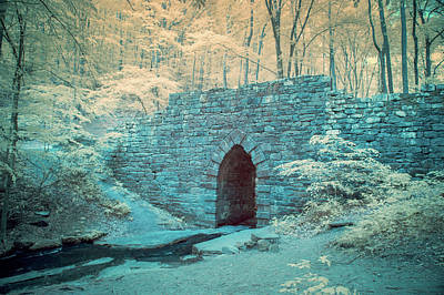 Poinsett Bridge-ir-1 Art Print