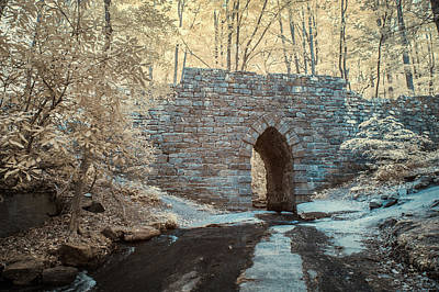 Poinsett Bridge-ir-10 Art Print