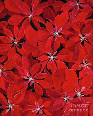 Painting - Poinsettia by Carla Dabney