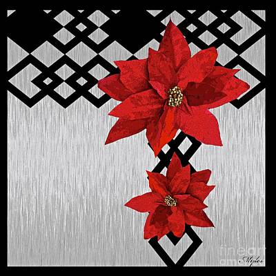 Painting - Poinsettia by Saundra Myles
