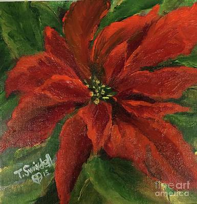 Painting - Poinsettia by Tina Swindell
