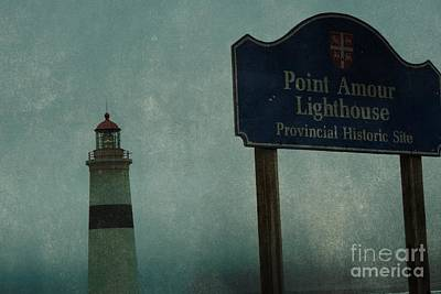 Point Amour Lighthouse, Newfoundland And Labrador, Canada Art Print