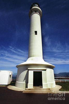 Photograph - Point Arena Light Is A Lighthouse In Mendocino  1996 by California Views Mr Pat Hathaway Archives