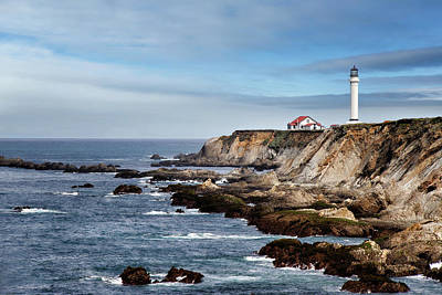 Photograph - Point Arena Light by Lana Trussell