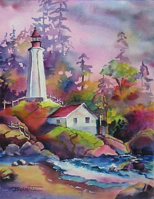 Painting - Point Atkinson by Bonny Roberts