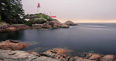 Photograph - Point Atkinson Lighthouse by Windy Corduroy