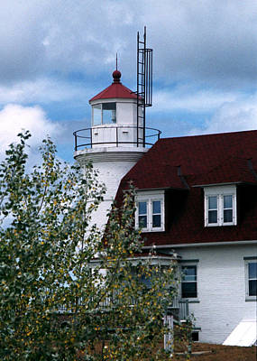 Photograph - Point Betsie Light, Michigan by Kenneth Campbell