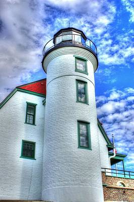 Photograph - Point Betsie Light by Randy Pollard