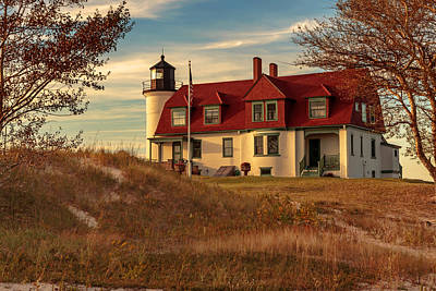 Photograph - Point Betsie Light by Susan Rissi Tregoning