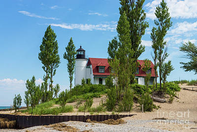 Photograph - Point Betsie Lighthouse by Jennifer White
