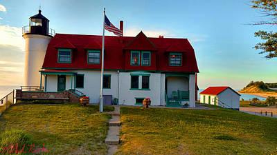 Photograph - Point Betsie Lighthouse by Michael Rucker