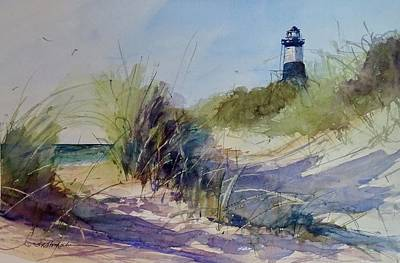 Painting - Point Betsie by Sandra Strohschein