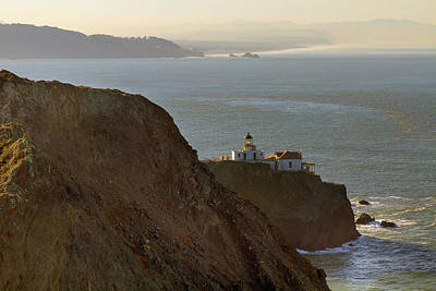 Point Bonita Lighthouse In San Francisco Art Print