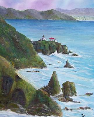 Point Bonita Lighthouse Art Print by Tony Rodriguez