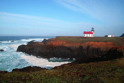 Photograph - Point Cabrillo Light Station by David Armentrout