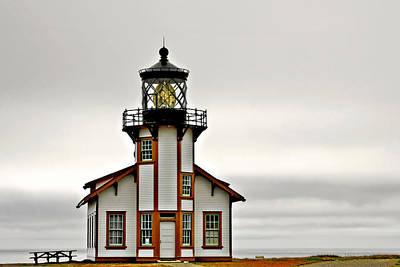 Point Cabrillo Lighthouse California Art Print