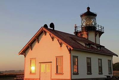 Photograph - Point Cabrillo Lighthouse by Donna Kennedy