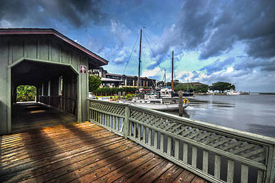 Photograph - Point Clear Bridge by Michael Thomas