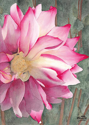Painting - Point Defiance Garden Flower by Ken Powers