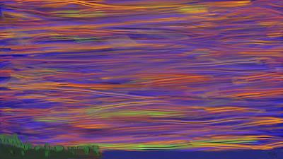 Digital Art - Point Ellen Sunset by Bruce